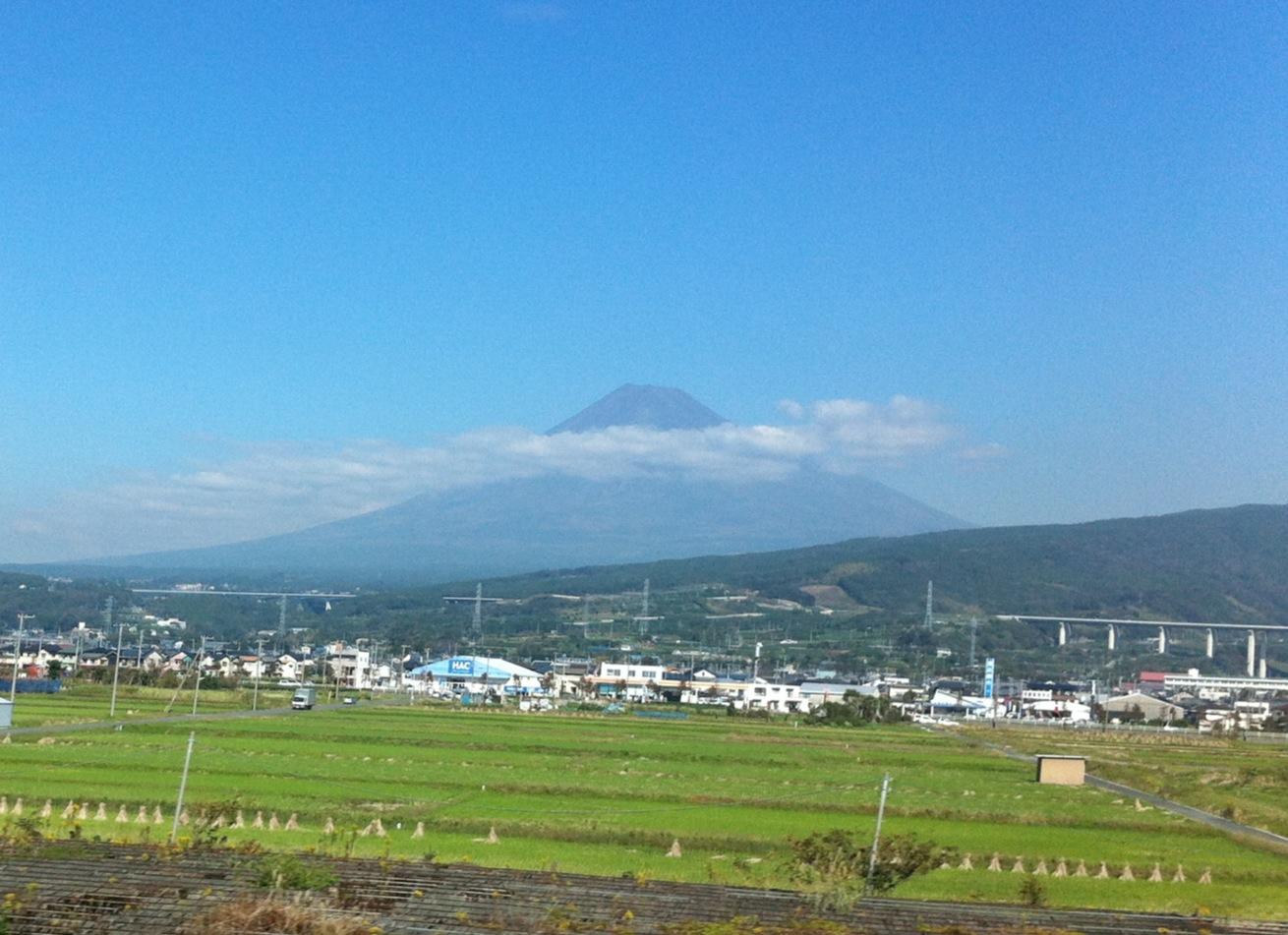 今日も富士山はきれいです